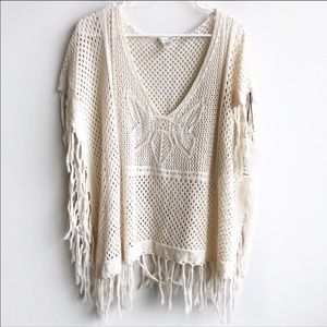 (NWT) Willow & Clay Poncho/Bathing Suit Cover Up